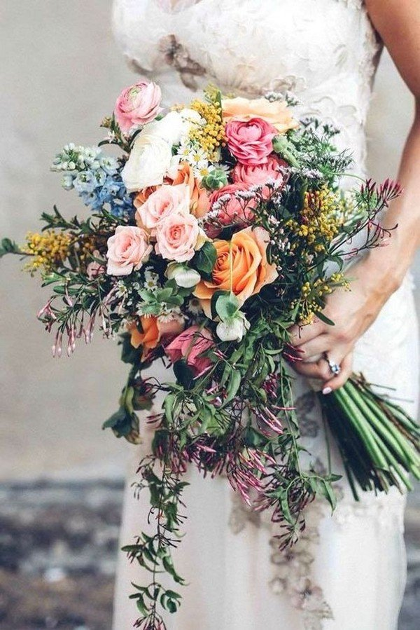15 stunning wedding bouquets for 2018 oh best day ever fall wedding bouquet ideas junglespirit Gallery