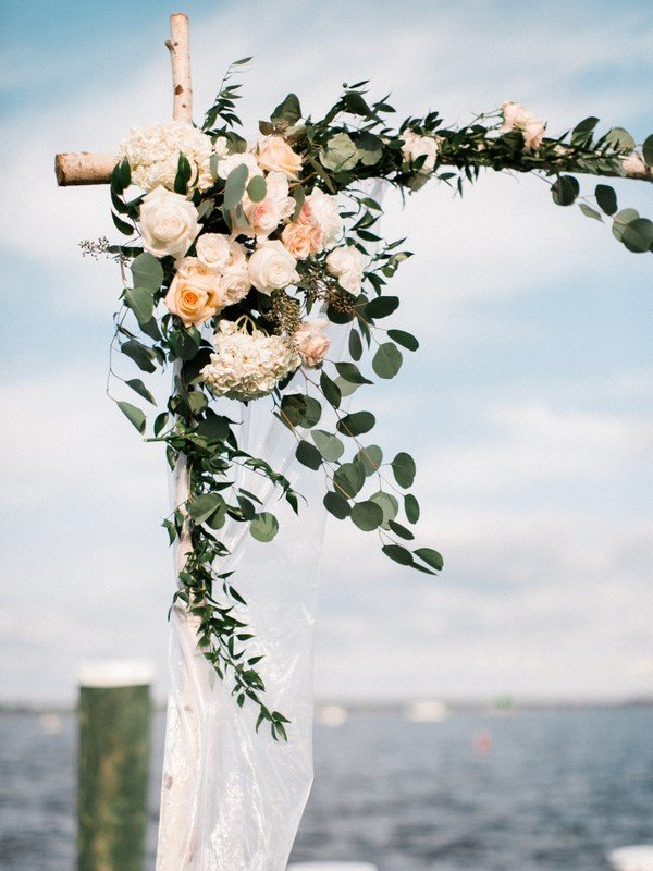 20 Prettiest Floral Wedding Arch Decoration Ideas Oh
