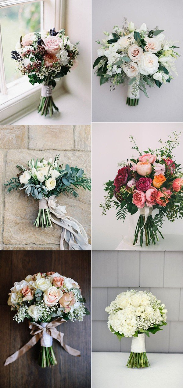15 stunning wedding bouquets for 2018 oh best day ever for Wedding flowers ideas pictures