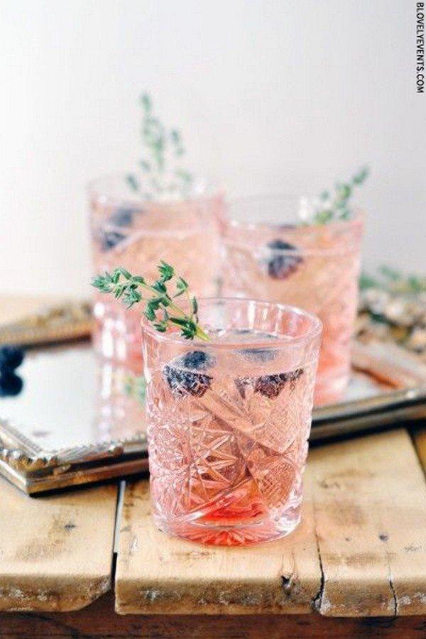 unique wedding signature cocktail drink with originals