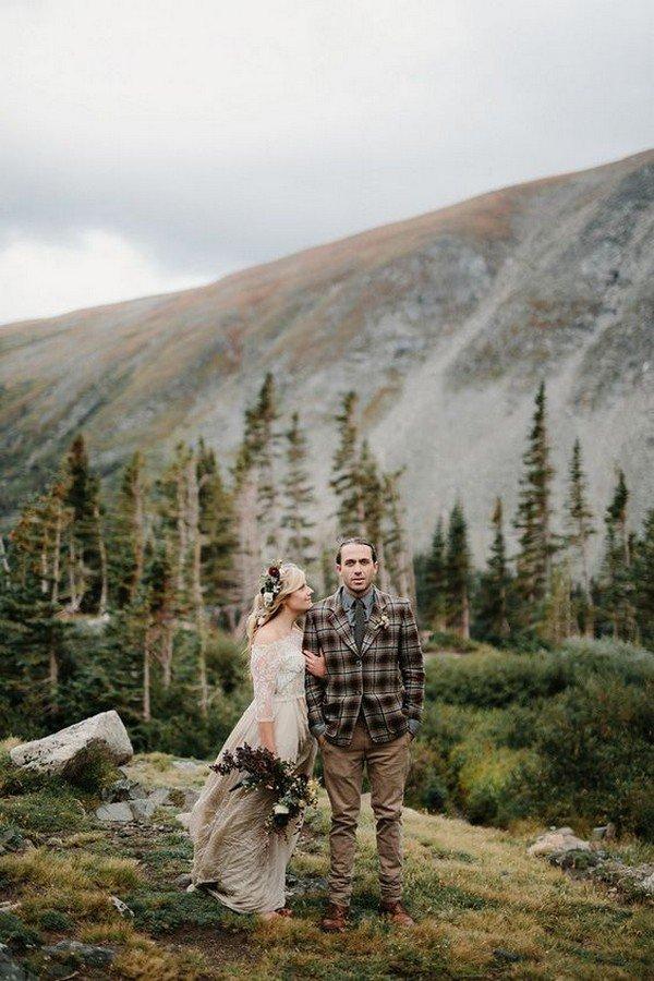 Colorado elopement photo ideas