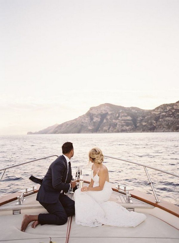 Positano Italy elopement wedding photo ideas