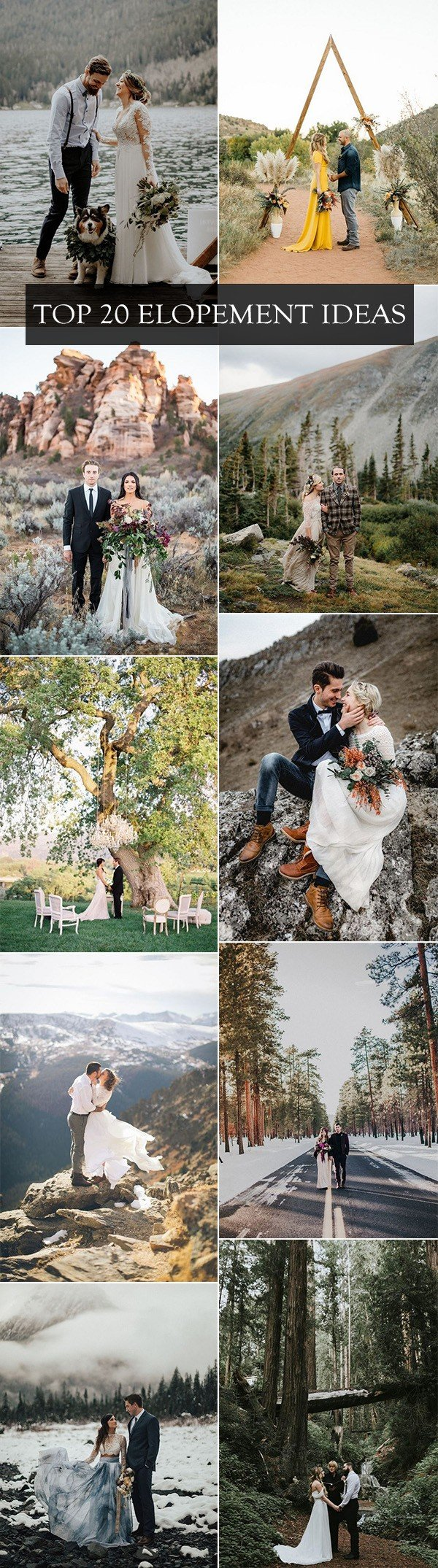 trending elopement ideas for intimate weddings