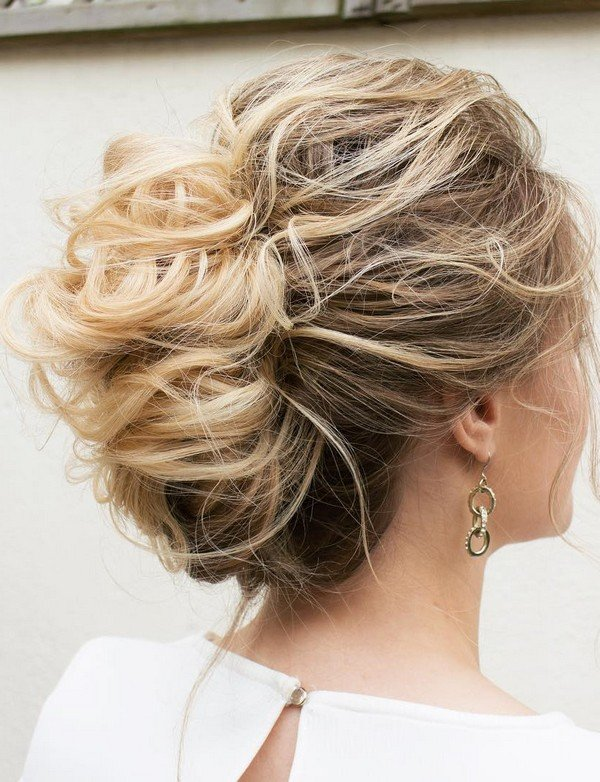 classic updo wedding hairstyle for 2018