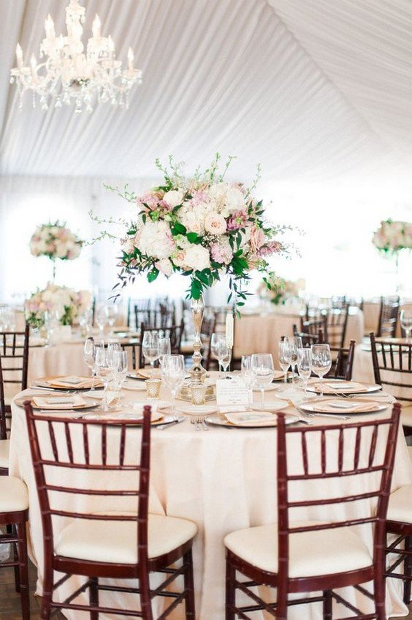 elegant tall wedding centerpiece ideas for 2018