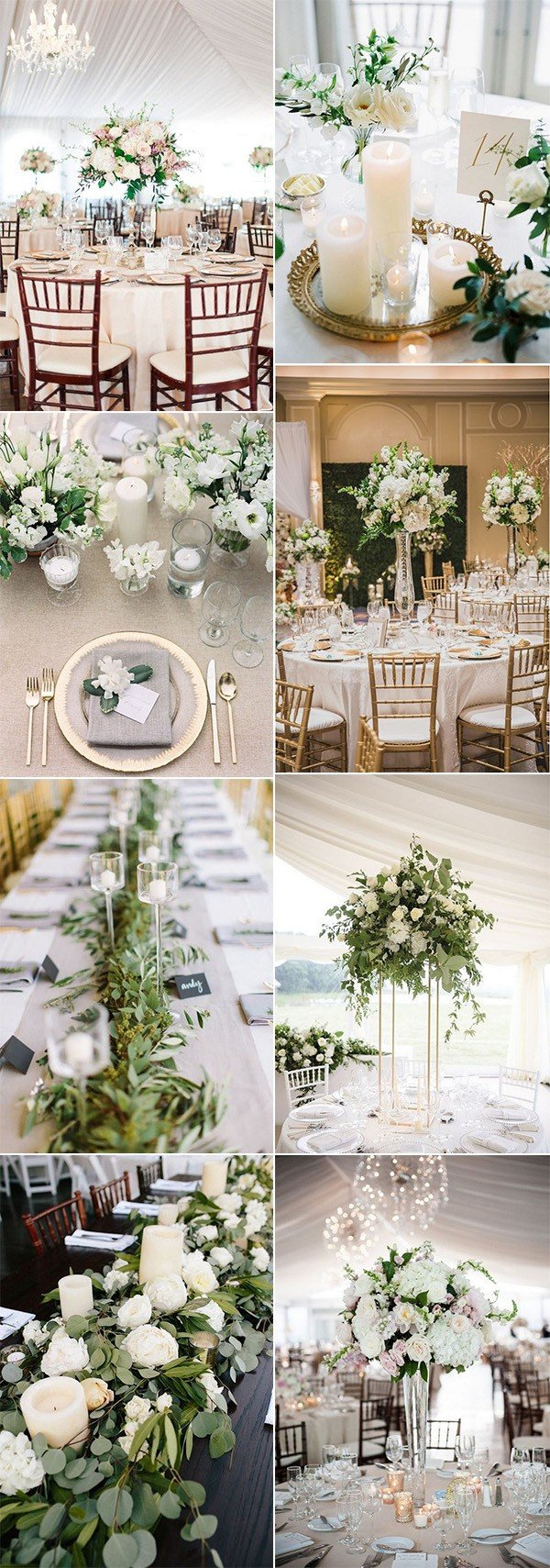 Wedding trends 2018 archives oh best day ever trending elegant wedding centerpieces for 2018 junglespirit Image collections
