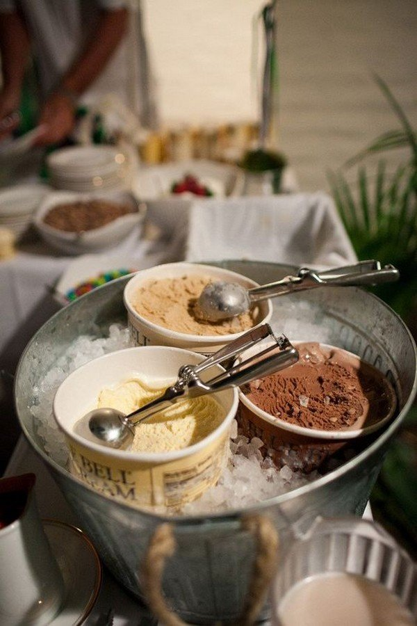 wedding food and dessert bar ideas for reception