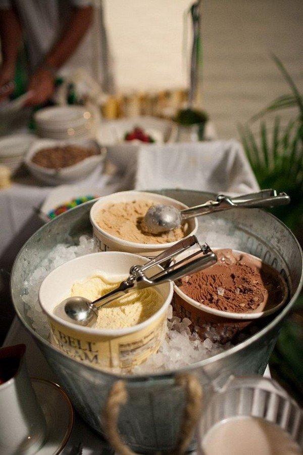 wedding food and dessert bar ideas for reception