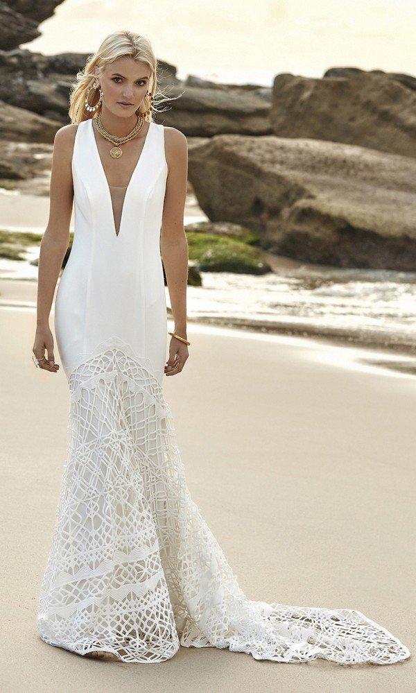Gigi Galaxy Rue De Seine lace wedding dress 2