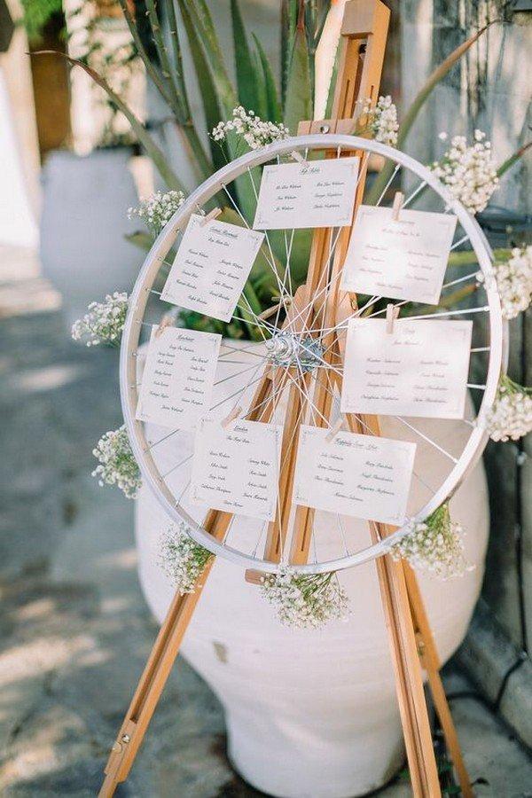 creative outdoor wedding seating plan ideas