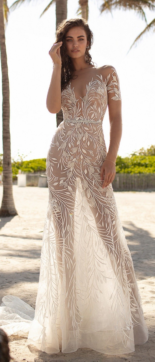 Berta illusion wedding dress 2019 collection