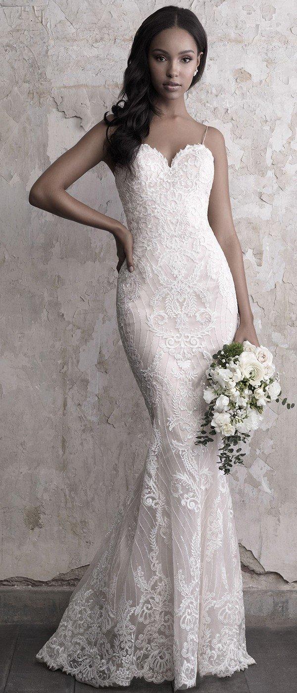 Madison James beaded sweat heart wedding dress 2018 fall collection