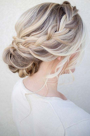 Bridal Updo Wedding Hairstyles For Long Hair Oh Best Day Ever