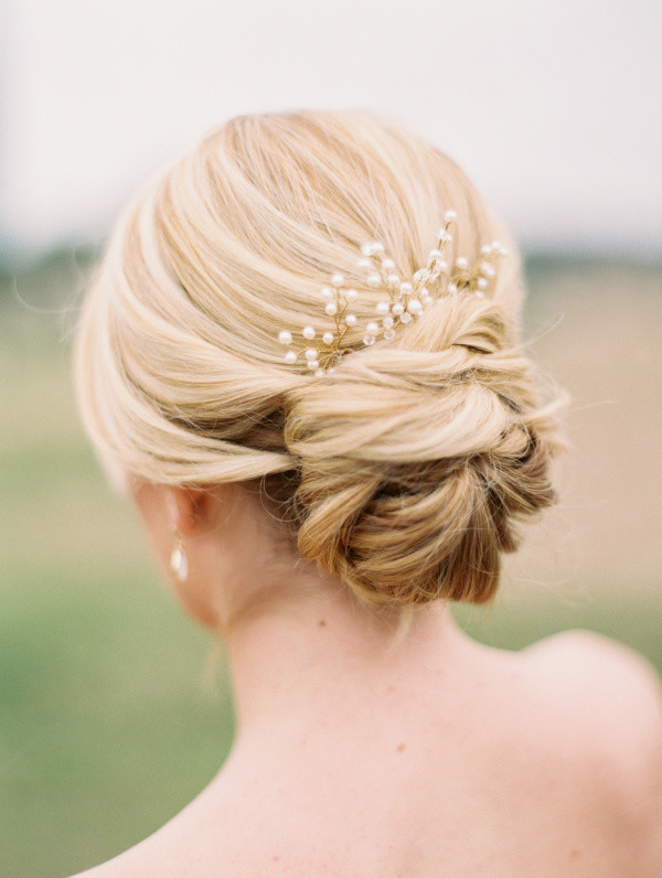 Simple But Elegant Updo Bridal Haistyles For Long Hair Oh Best Day