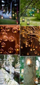 hanging candles wedding decoration ideas for 2017 trends