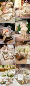 vintage wedding centerpieces for 2017 trends