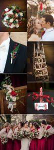 christmas inspired wedding ideas for winter