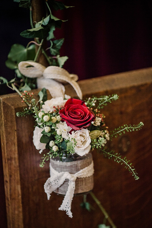 country wedding decoration ideas inspired Christmas