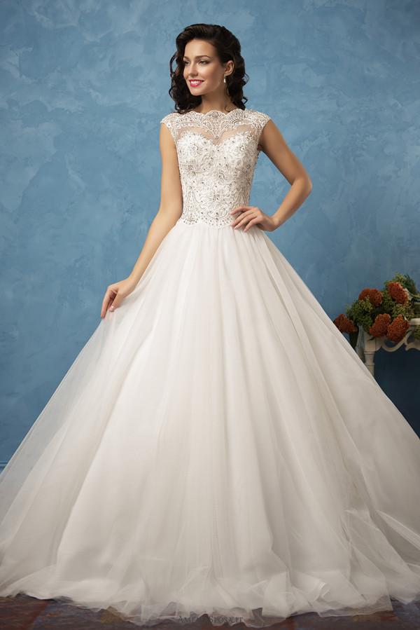 delicate details a line amelia sposa wedding dresses 2017