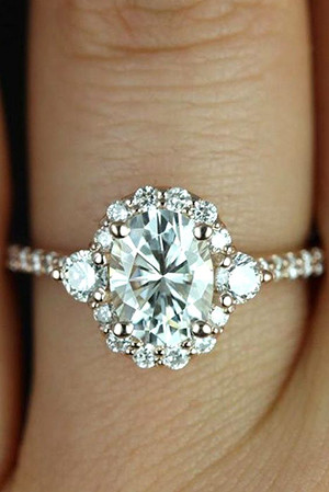 2017 trendigorgeous wedding engagement ring ideasng halo twisted wedding engagement rings