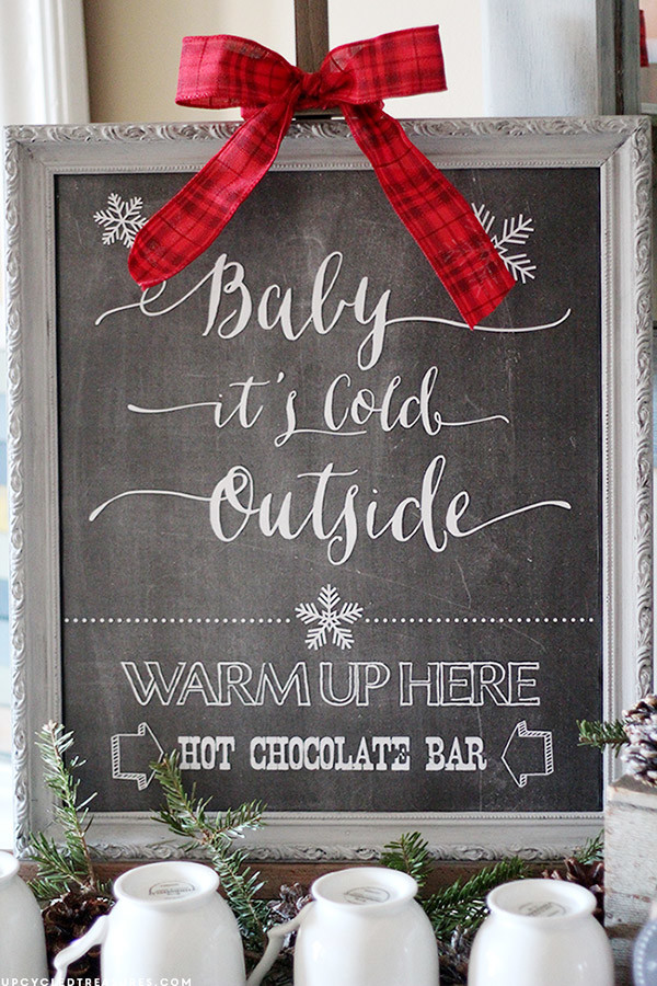 hot chocolate bar ideas for christmas wedding themes
