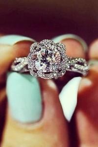 vintage diamond wedding engagement rings