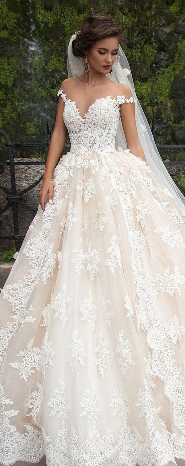 Milla Nova lace wedding dresses 2017