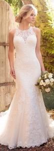 essense of Australia sleeveless lace wedding dresses