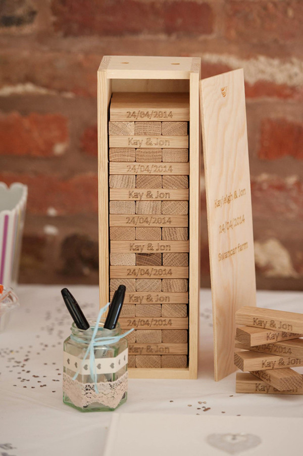 Gift Ideas For Boys: 23 Unique Wedding Guest Book Ideas For Your Big Day