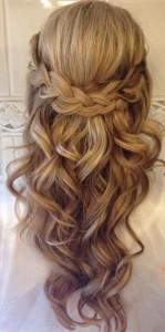 amazing half up half down classic wedding hairstyles