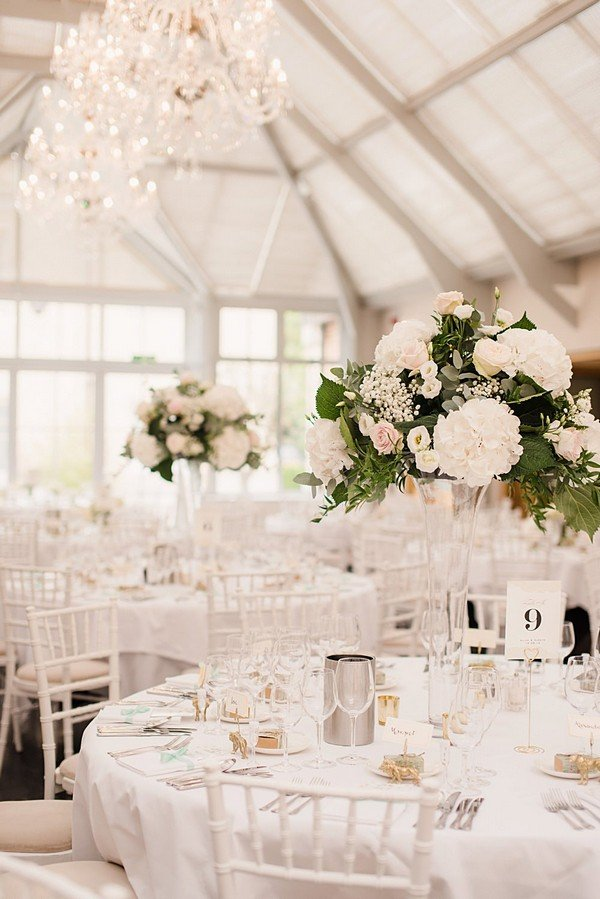 blush pink wedding table decoration ideas
