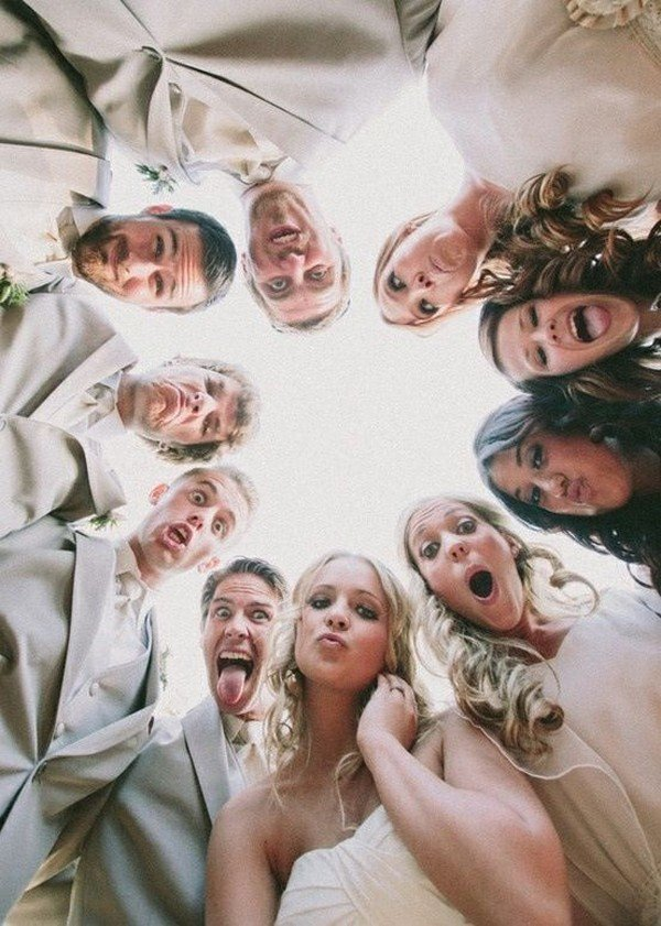 creative funny wedding photo ideas