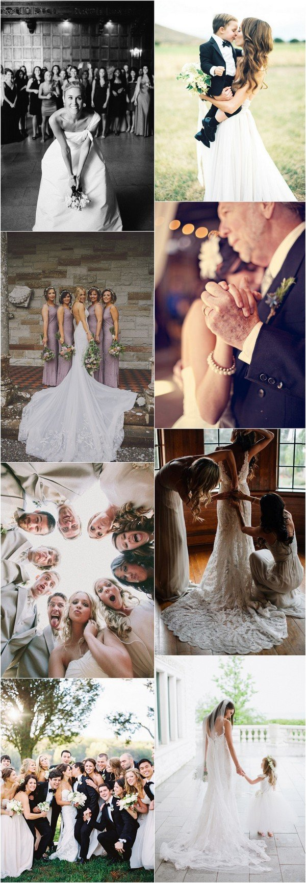 creative wedding party photo ideas
