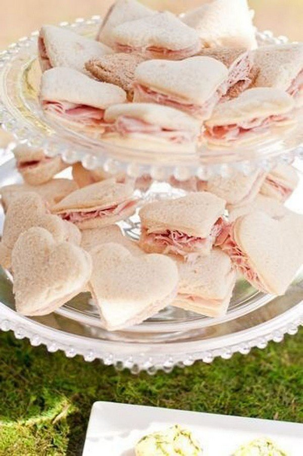 feminine bridal shower food ideas