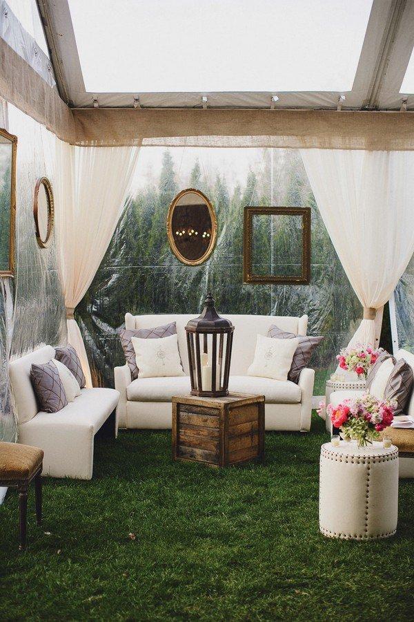 vintage tented wedding grand salon ideas