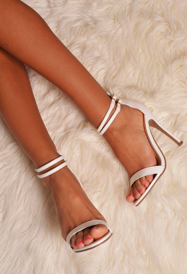 white strapped wedding shoes for 2017