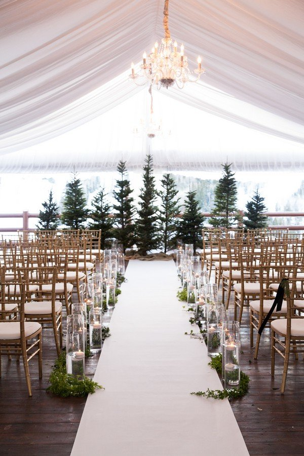 20 Breathtaking Wedding Aisle Decoration Ideas to Steal - Page 2 of ...