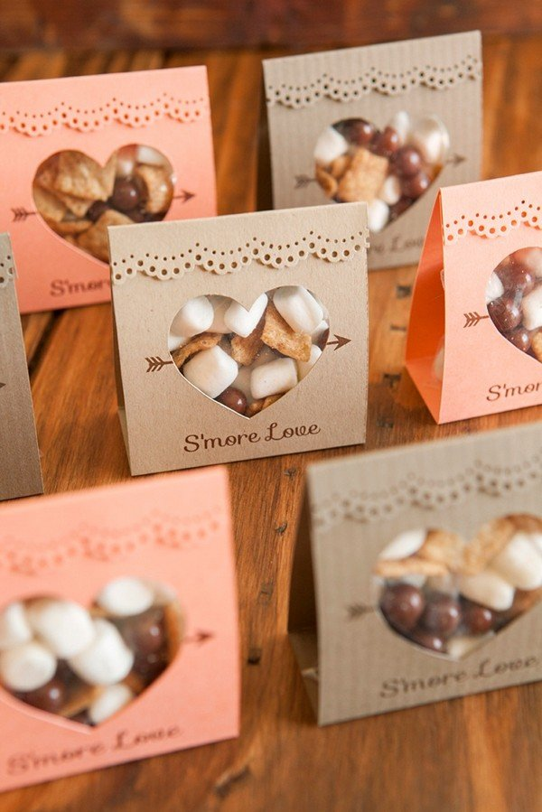 diy s'mores wedding favor ideas