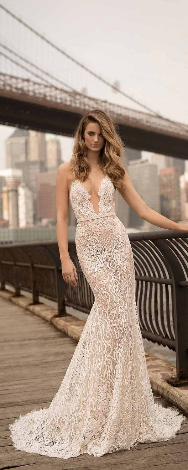 lace wedding dresses berta 2018 spring collection 18-24