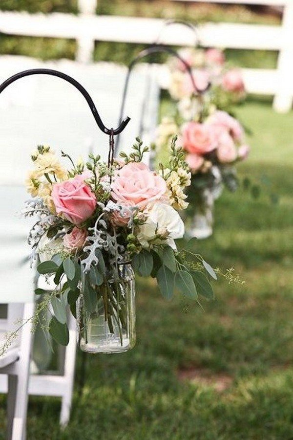 outdoor wedding aisle ideas Oh Best Day Ever