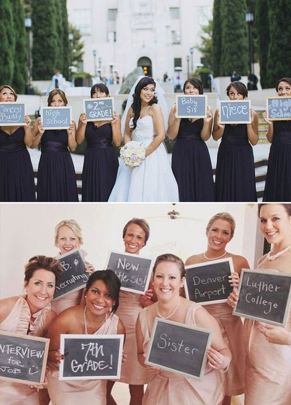 unique wedding photo ideas with bridesmaids