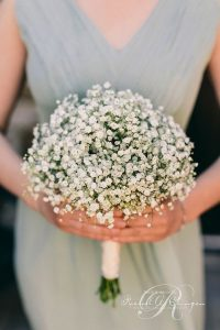 baby's breath wedding bouquet ideas