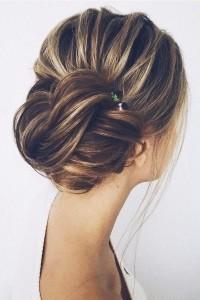 pretty updo wedding hairstyles