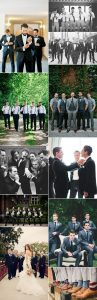 trending creative wedding photo ideas with groomsmen