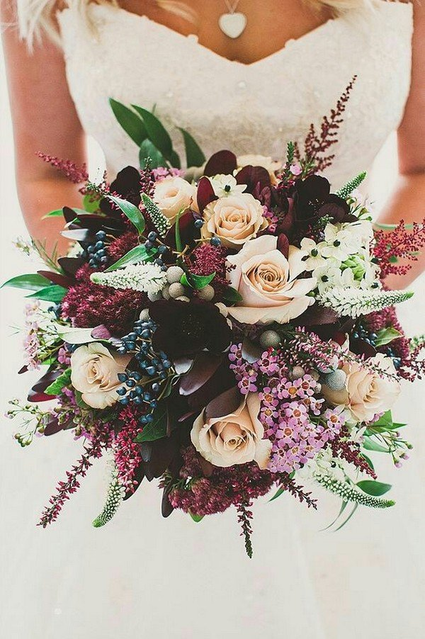 wedding bouquet ideas for fall