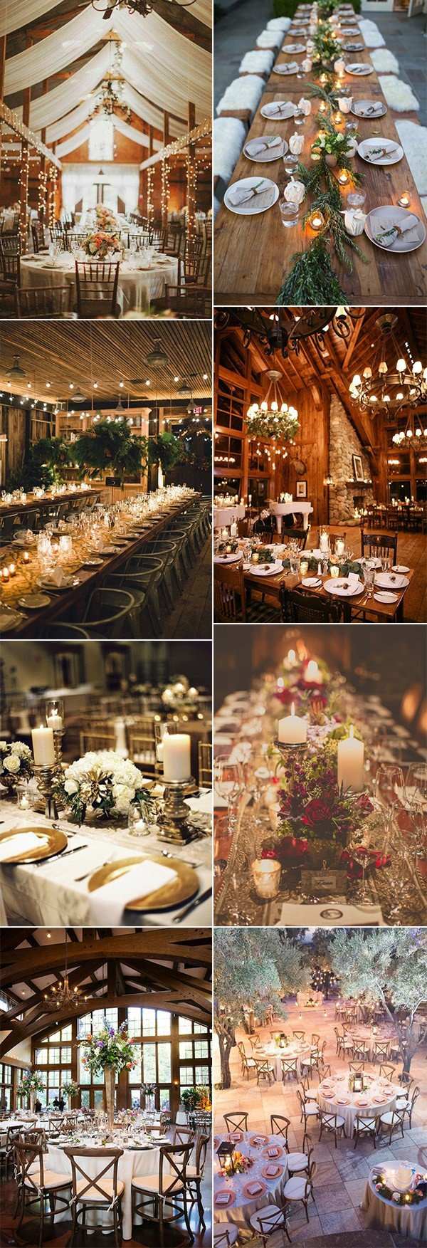 winter wedding reception decoration ideas for 2017