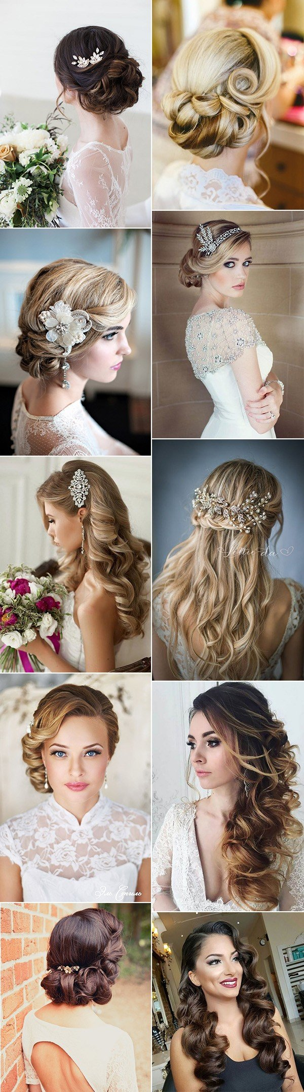 chic vintage wedding hairstyles