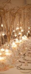 great gatsby wedding centerpiece ideas