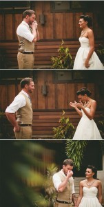 heartwarming first look wedding photo ideas