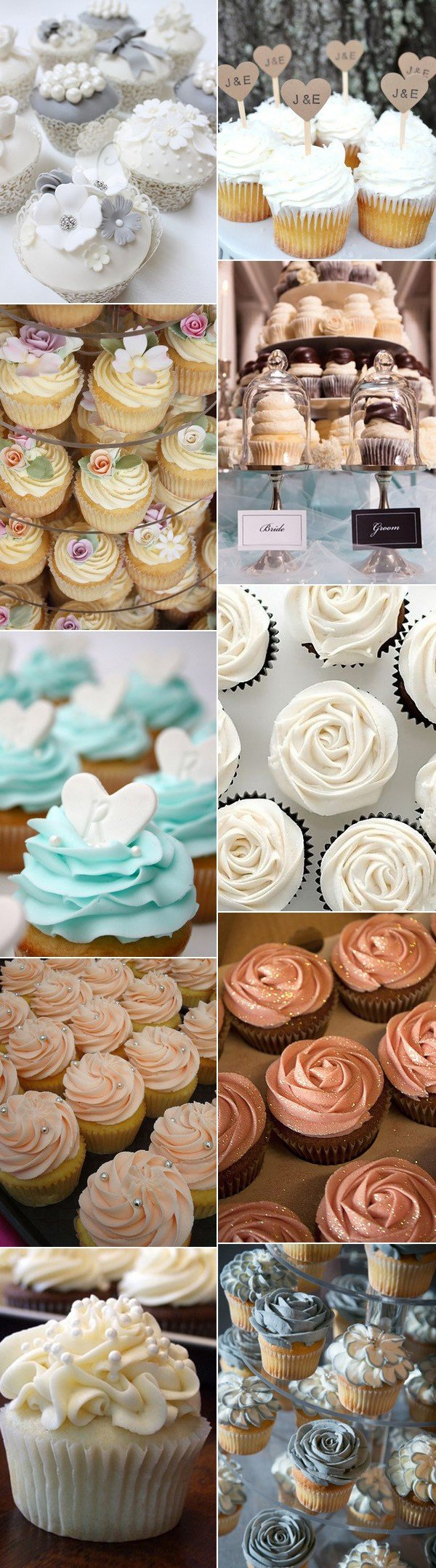 unique wedding cupcake ideas